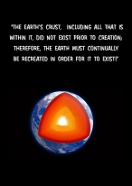 Th earths crust...