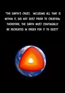 Th earths crust...